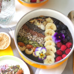Maca Blueberry Smoothie Bowl (GF, DF, Vegan)