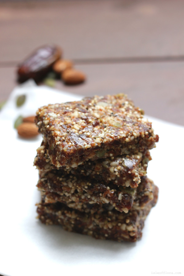 Raw Muesli Bars