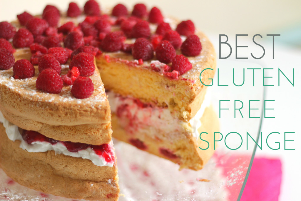 The best gluten free sponge cake. Gluten free, dairy free, only 7 ingredients! Simple and versatile. Raspberry Victoria Sponge option included.