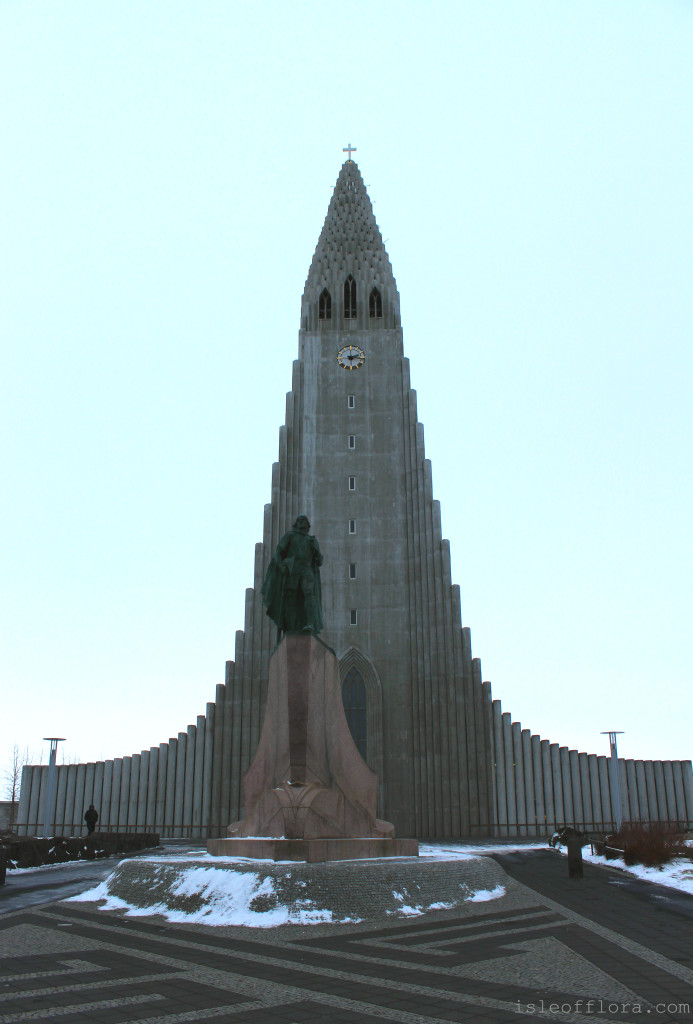 Reykjavik church tops off Iceland winter wonderland: Reykjavik is Iceland's funky capital city and your gateway to experiencing a taste of the unique Icelandic culture. Click through to get your guide to Reykjavik and its surrounds. www.isleofflora.com. Photos by Sara Greig.